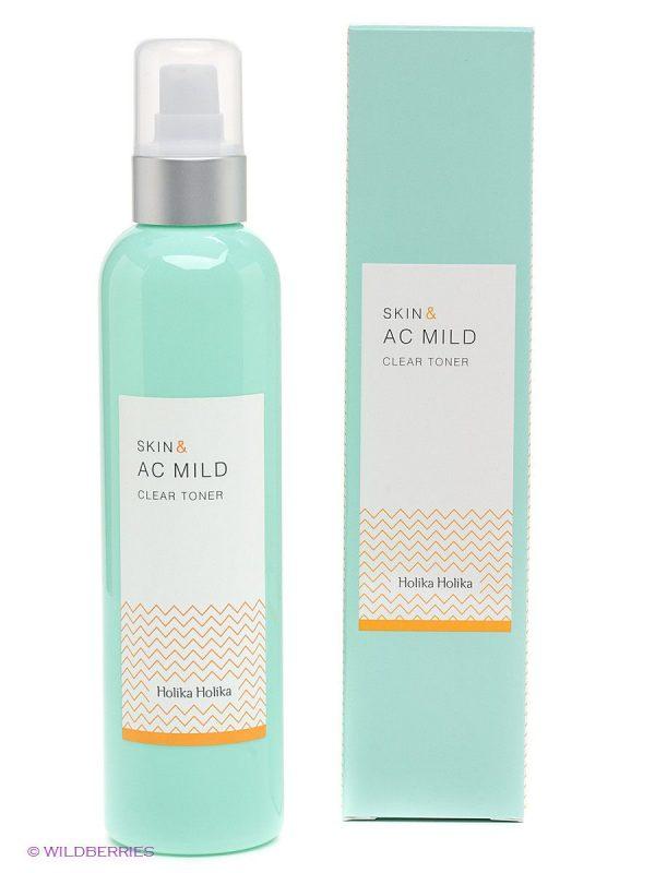 [ HOLIKA HOLIKA ] Skin & AC Mild Clear Toner 245ml