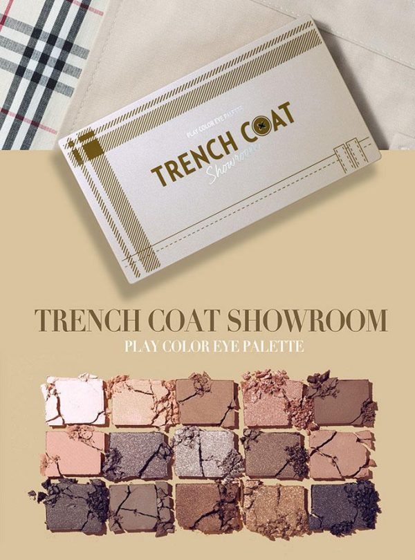 [ ETUDE HOUSE ] Play Color Eye Palette Trench Coat Showroom