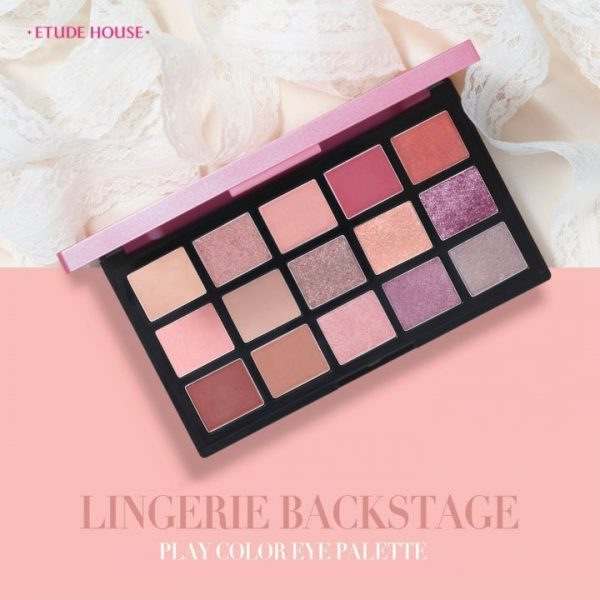 [ ETUDE HOUSE ] Play Color Eye Palette Lingerie Backstage