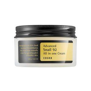 [ COSRX ] Advanced Snail 92 All in one Cream - Geliştirilmiş Salyangoz Ekstreli Hepsi Bir Arada Krem