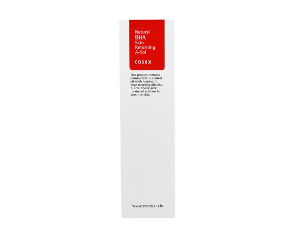 [ COSRX ] Natural BHA Skin Returning A-Sol 100 ml