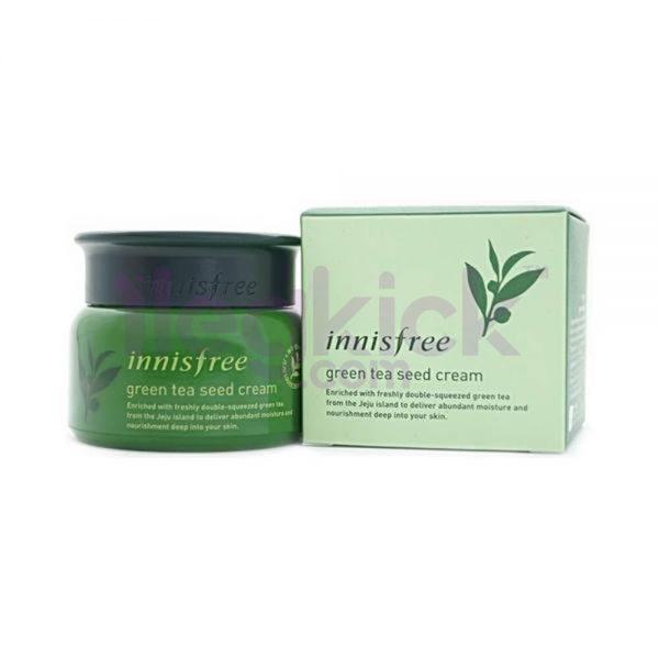 [ INNISFREE ] Green Tea Seed Cream - Yeşil Çay Tohumu Kremi