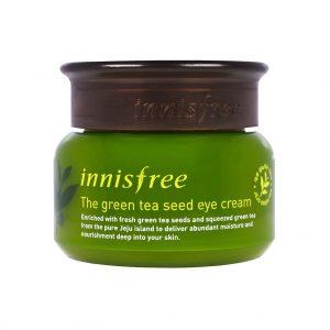 [ INNISFREE ] Green Tea Seed Eye Cream - Yeşil Çay Tohumu Göz Kremi